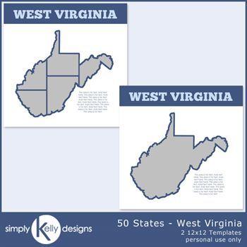 50 States - West Virginia