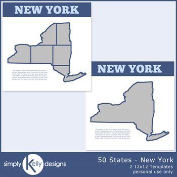 50 States - New York