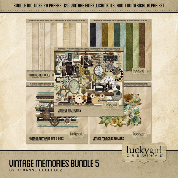 Vintage Memories Bundle 5