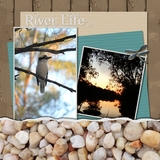 At The River Pre-designed Book 12x12