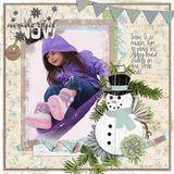 Mr. Snowman - Journal Cards