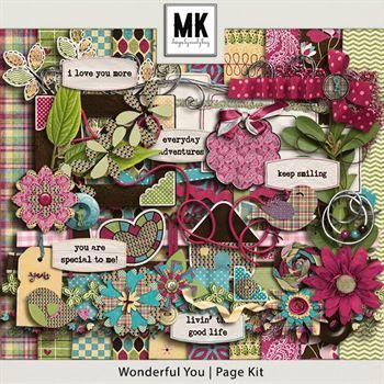 Wonderful You - Page Kit