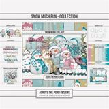 Snow Much Fun - Page Kit
