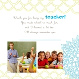 Simply Said Teacher 12x12 Predesigned Pages