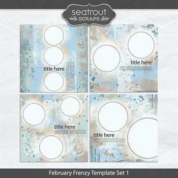 February Frenzy Template Set 1
