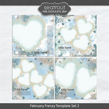 February Frenzy Template Set 2