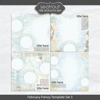 February Frenzy Template Set 3