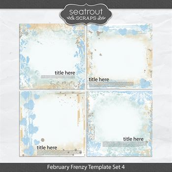 February Frenzy Template Set 4