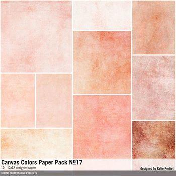 Canvas Colors Paper Pack No. 17