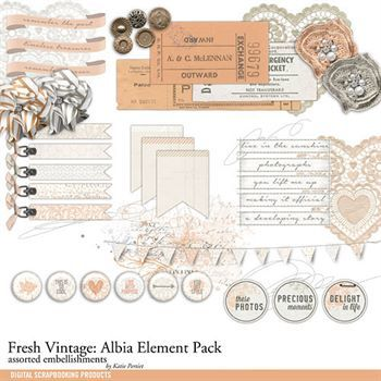 Fresh Vintage Albia Element Pack