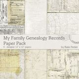 My Family Genealogy Bundle Pack No. 01