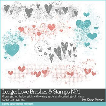 Ledger Love Brushes And Stamps No. 01
