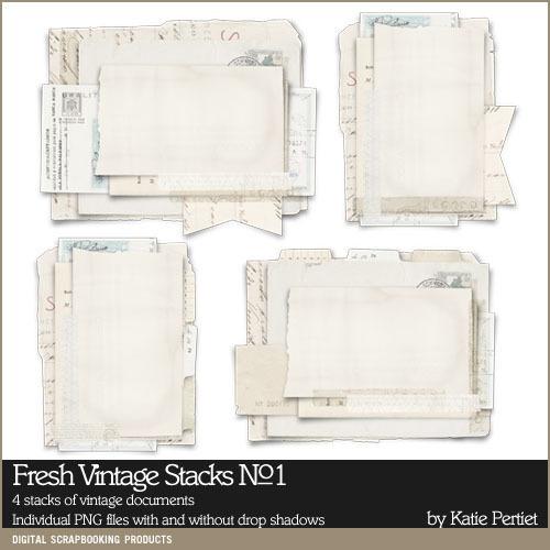 Fresh Vintage Stacks No. 01