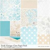Fresh Vintage Clare Paper Pack
