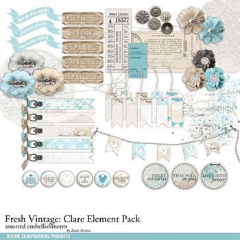 Fresh Vintage Clare Element Pack