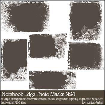 Notebook Edge Photo Masks No. 04