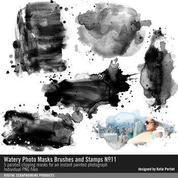 Watery Photo Masks No. 11
