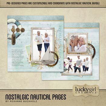 Nostalgic Nautical Pages