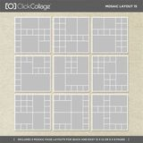 Mosaic Layout Bundle 4