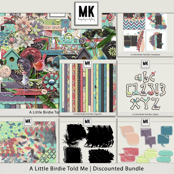 A Little Birdie Told Me - Discounted Bundle
