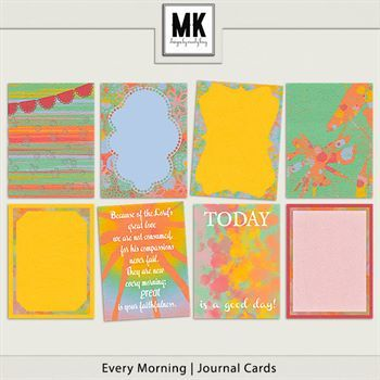Every Morning - Journal Cards