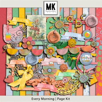 Every Morning - Page Kit
