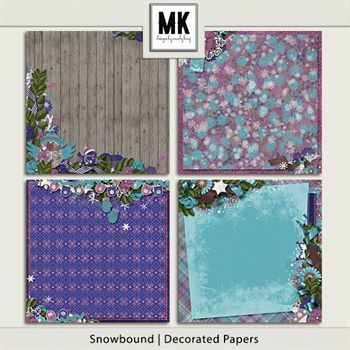 Snowbound - Decorated Papers