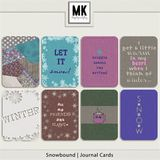 Snowbound - Journal Cards