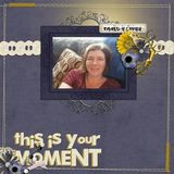 This Is Your Moment - Just Be You - Page Kit