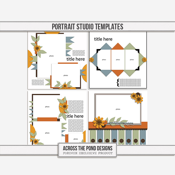 Portrait Studio - Templates