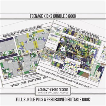 Teenage Kicks Bundle Plus Predesigned Book