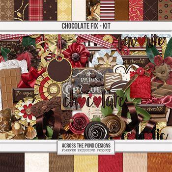 Chocolate Fix - Page Kit