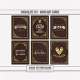 Chocolate Fix - Journal Cards