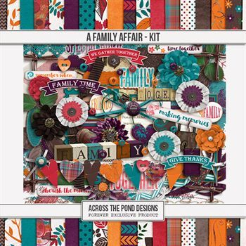 A Family Affair - Page Kit