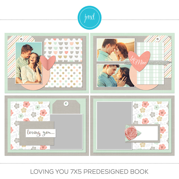 Loving You 7x5 Predesigned Book