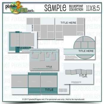 11x8.5 Sample Blueprint Collection