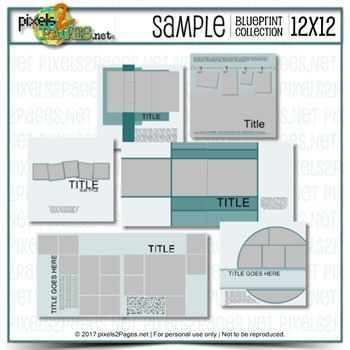 12x12 Sample Blueprint Collection