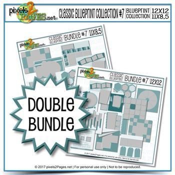 Double Bundle - Classic Blueprint Collection #7