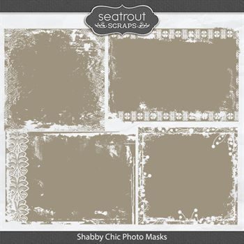 Shabby Chic Photo Masks