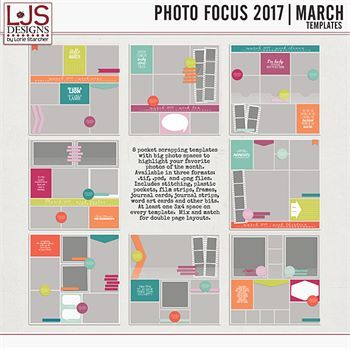 Photo Focus 2017 - March Templates