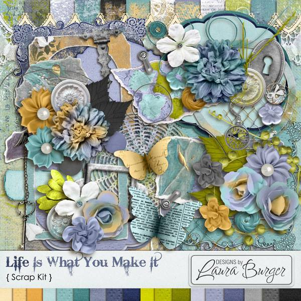 Life Is What You Make It Scrap Kit