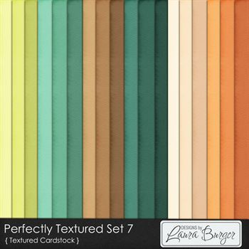Perfectly Textured Cardstock Set 7