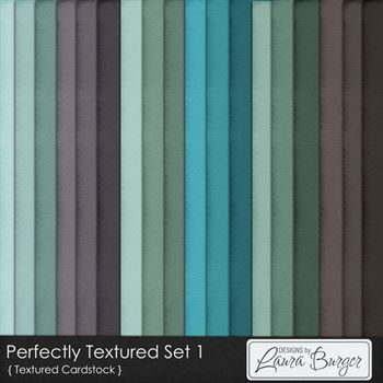 Perfectly Textured Cardstock Set 1