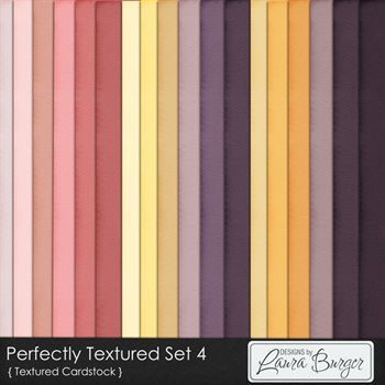 Perfectly Textured Cardstock Set 4