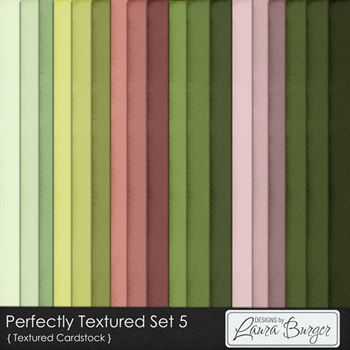 Perfectly Textured Cardstock Set 5