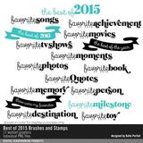 Best Of 2015 Brushes And Stamps