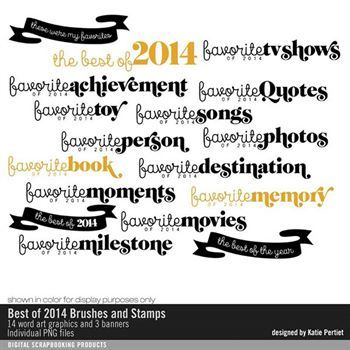 Best Of 2014 Brushes And Stamps