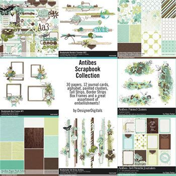 Antibes Scrapbook Bundle