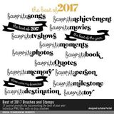Best Of 2017 Brushes And Stamps