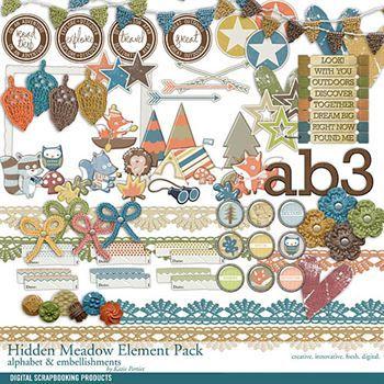 Hidden Meadow Element Pack